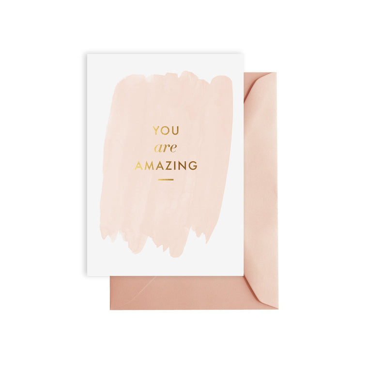 ELM PAPER-you are amazing card