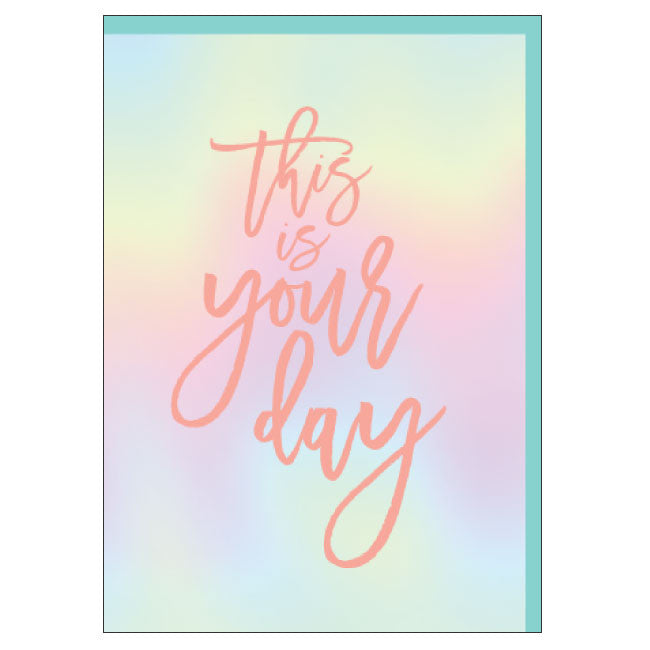 CANDLEBARK Your Day card