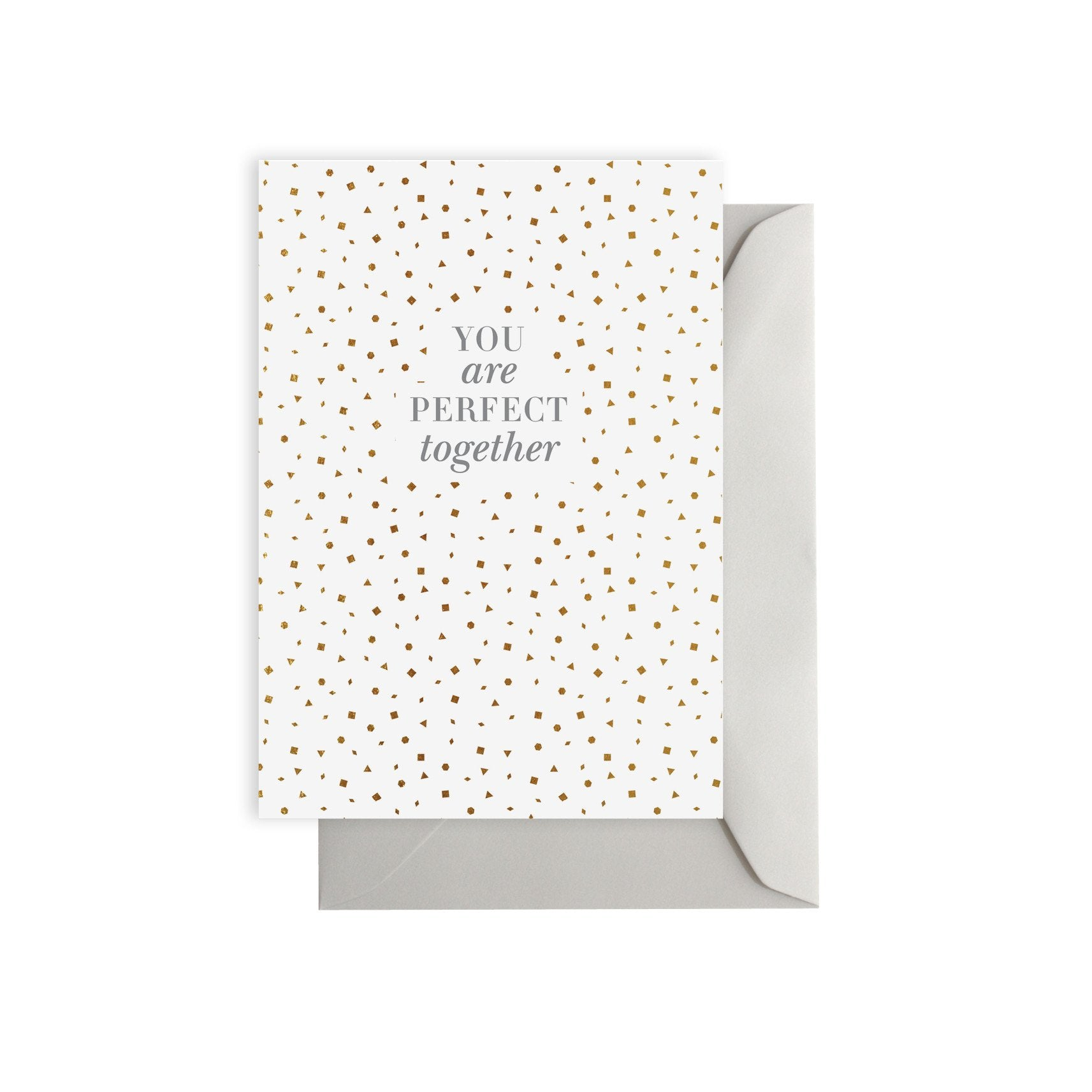 ELM PAPER-Perfect together card