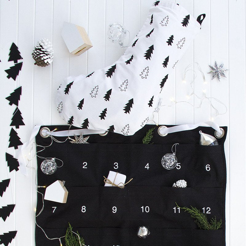 CABIN CO Scandi tree stocking