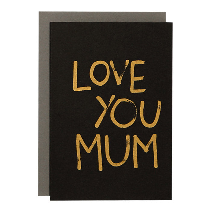 ME + AMBER Greeting Card- Love You Mum