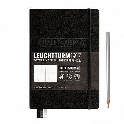 LEUCHTTURM1917 A5 Bullet journal- Black