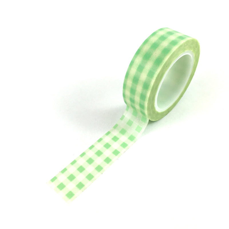 Washi Tape-Minty check