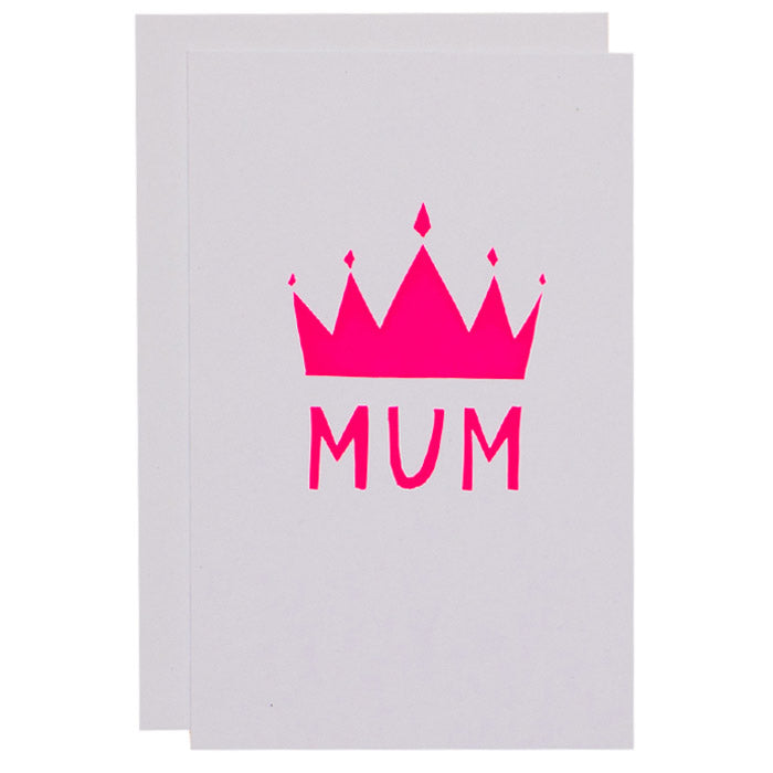 ME + AMBER Greeting Card- Crown Mum