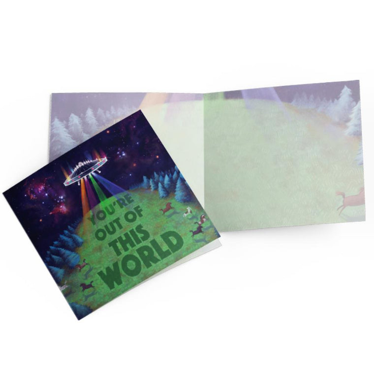LALALAND- Out of This World Card