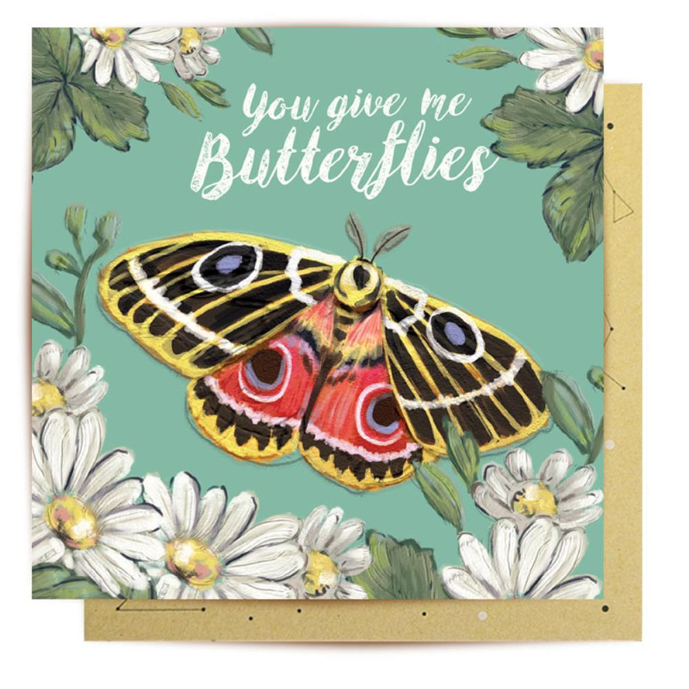 LALALAND-Butterflies Card