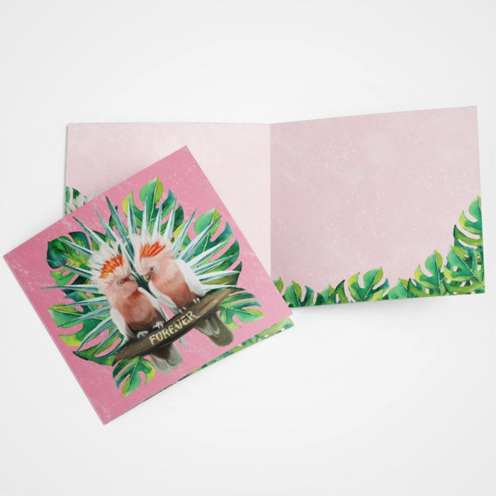LALALAND- LOVE BIRDS Card