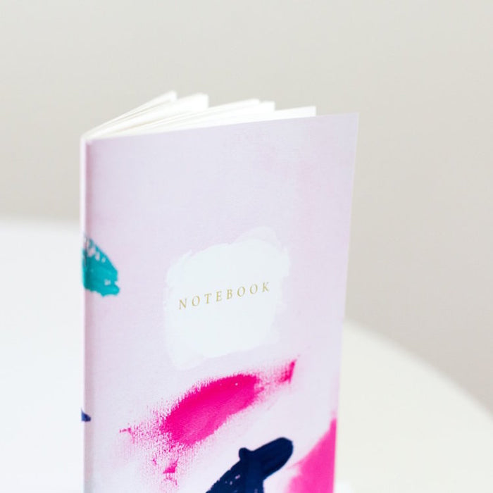 Rachel Kennedy Designs Note Notebook-Pink