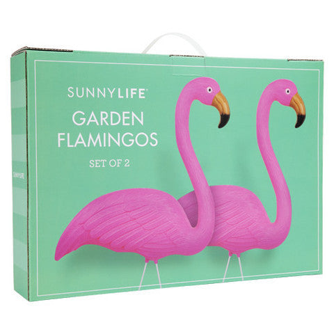 SUNNYLIFE Garden Flamingos set of 2