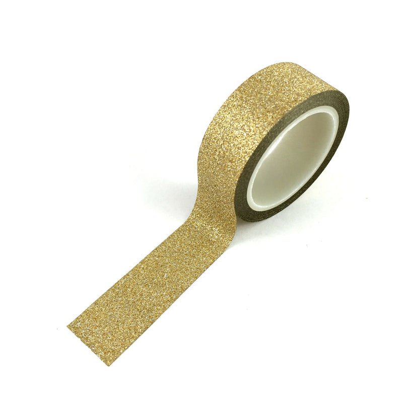 Washi Tape-Glitter Gold