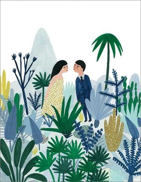 KATE PUGSLEY-FOREST LOVE CARD