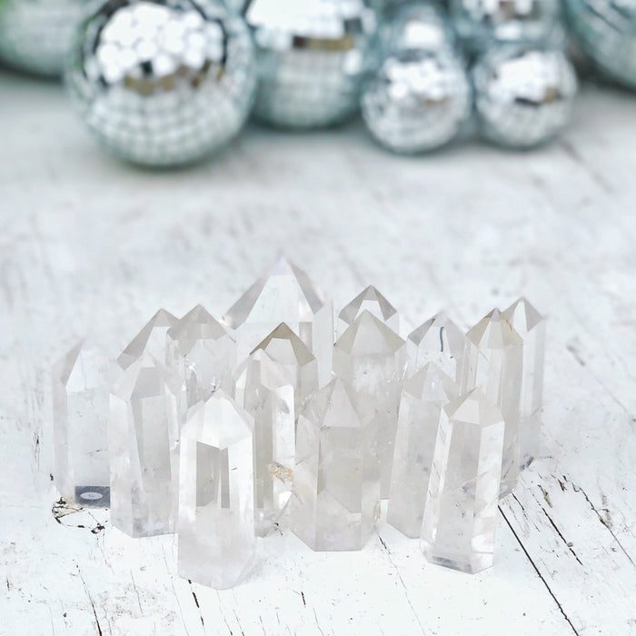 LITTLE PAPER LANE Crystals- Clear Quartz Generator $40