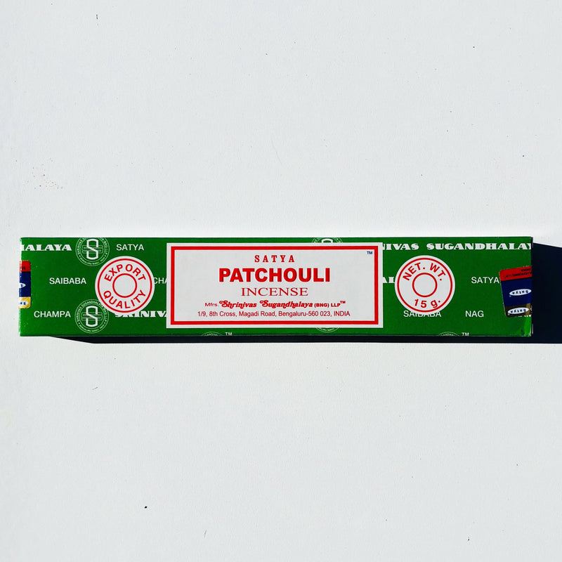 SATYA-Patchouli incense 15mg