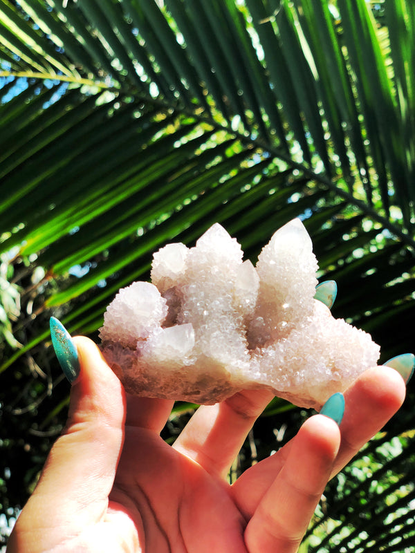 LITTLE PAPER LANE Crystals- Spirit Quartz $54