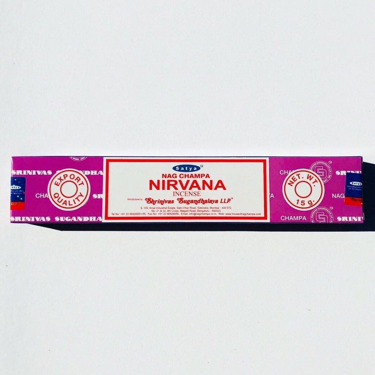 SATYA Incense-Nirvana- 15mg