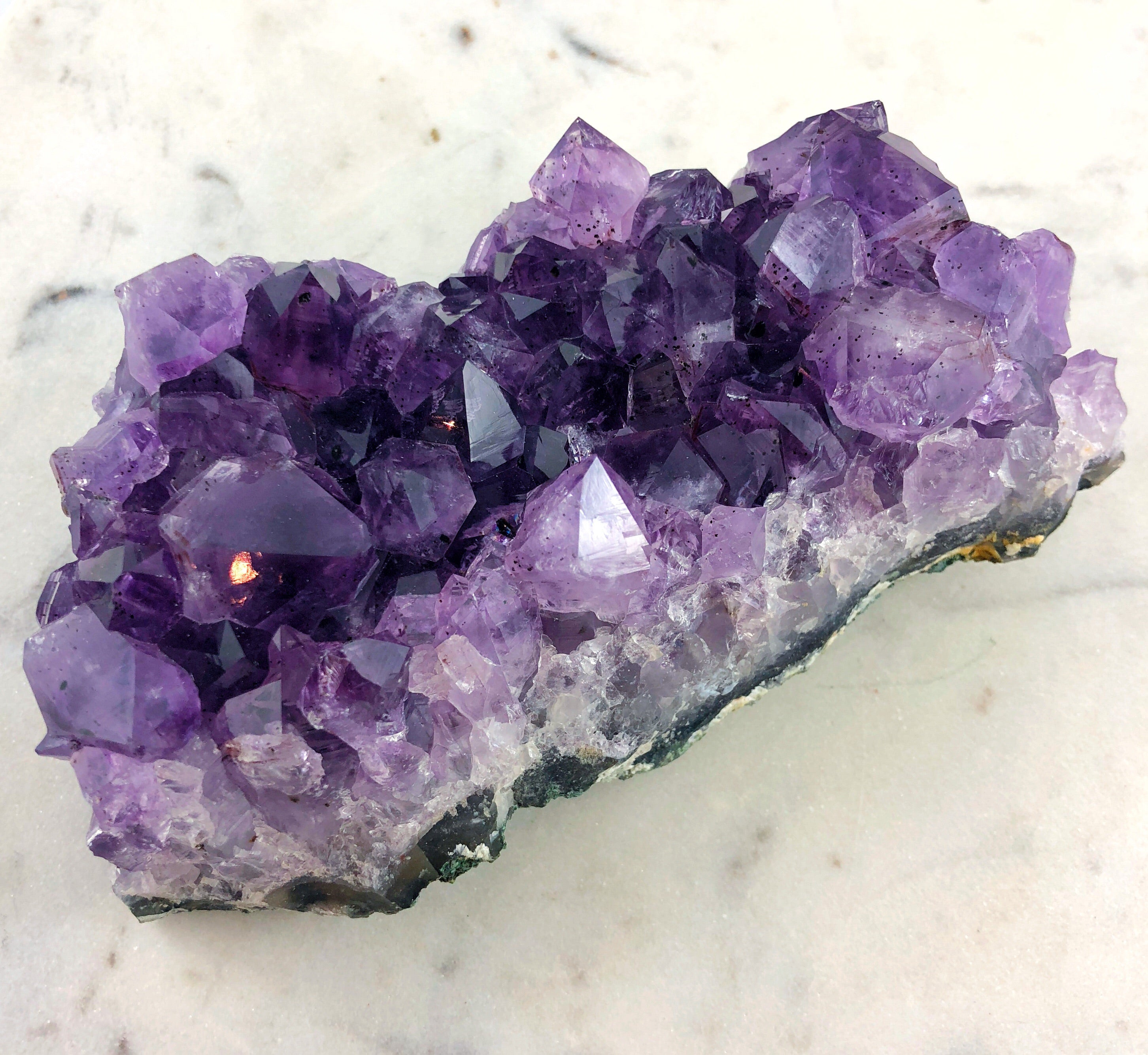 LITTLE PAPER LANE crystals-Amethyst cluster (4#)