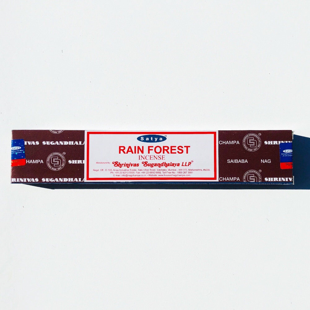 SATYA Incense-Rain Forest - 15mg