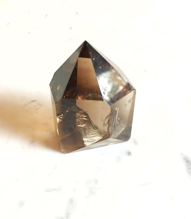LITTLE PAPER LANE Crystals- Smoky Quartz Point $41