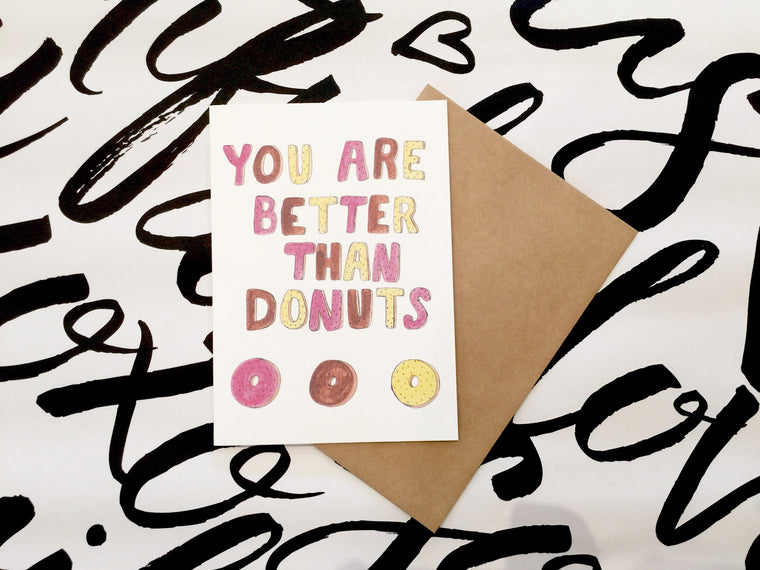LITTLE PAPER LANE Greeting Card-Better Than Donuts