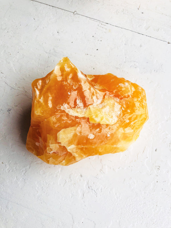 LITTLE PAPER LANE Crystals- Orange Calcite(2#)