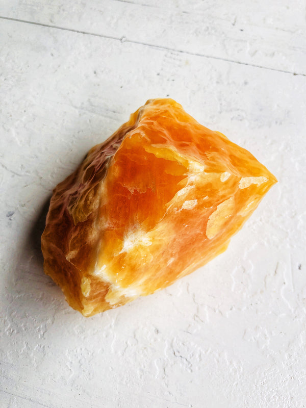 LITTLE PAPER LANE Crystals- Orange Calcite(3#)