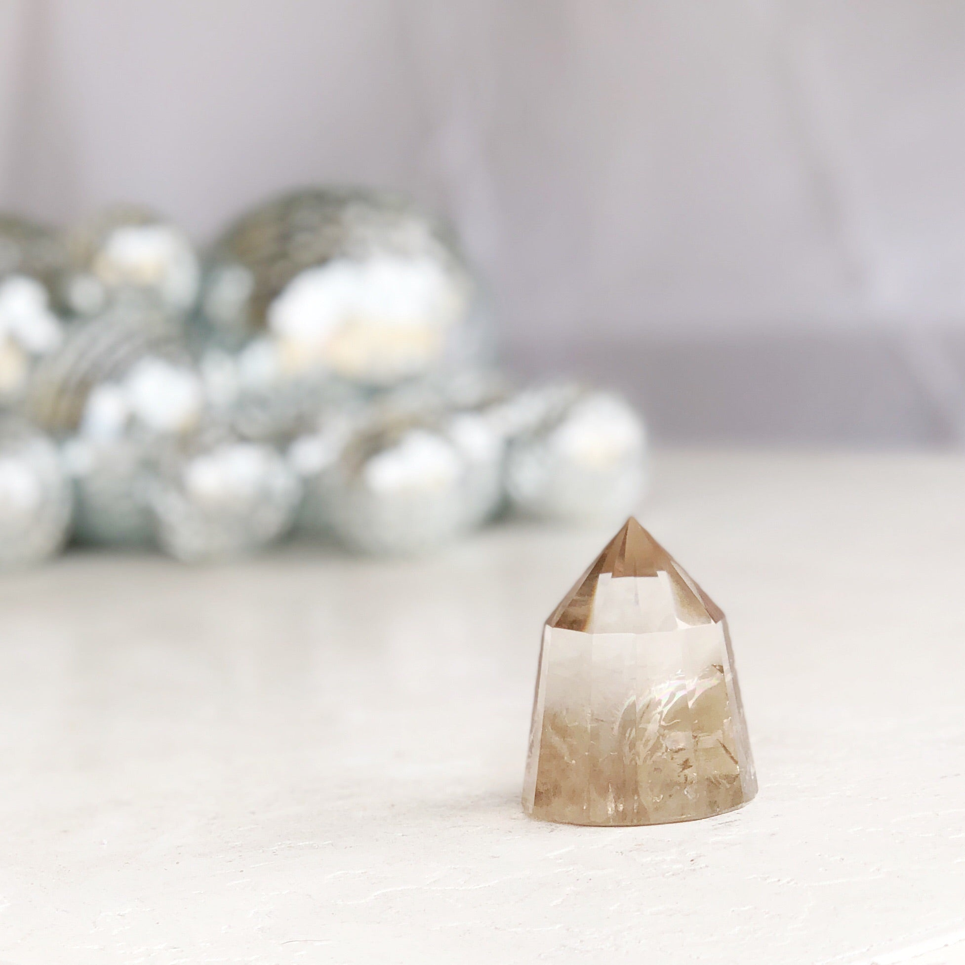 LITTLE PAPER LANE Crystals- Smokey Quartz Vogel generator $88