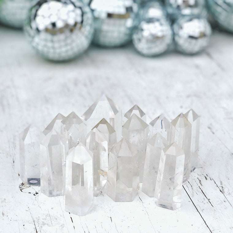 LITTLE PAPER LANE Crystals- Clear Quartz Generator $30
