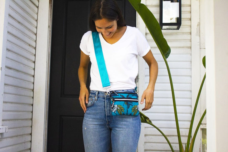Cross Body Bag in Banana Bungalow