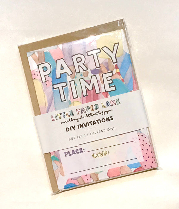 LITTLE PAPER LANE DIY Invitations- Icy Pole
