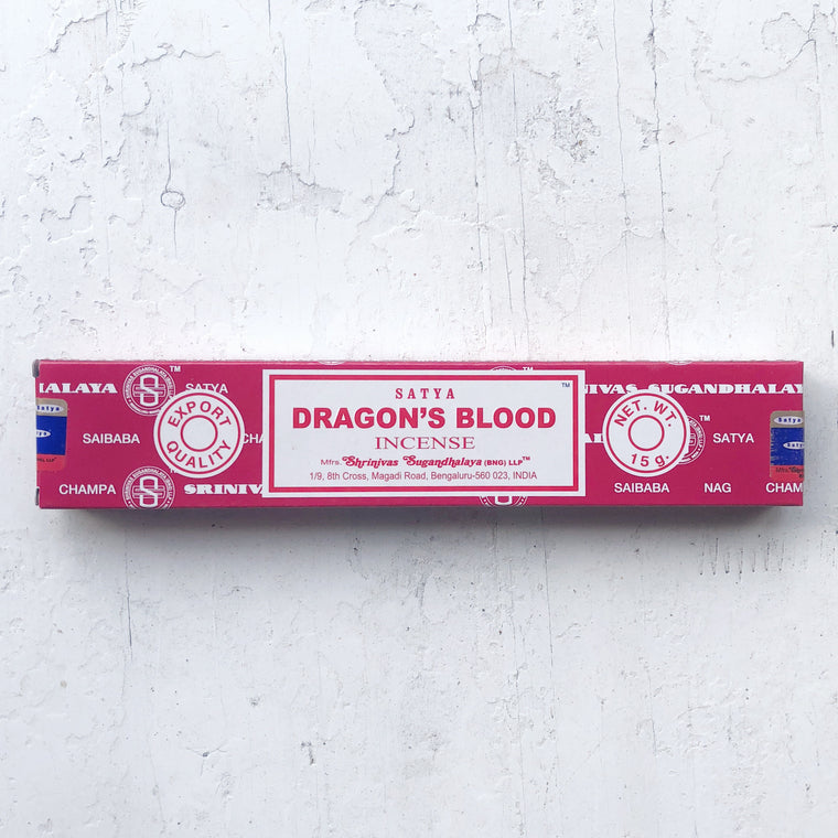 SATYA-Dragons Blood incense 15mg