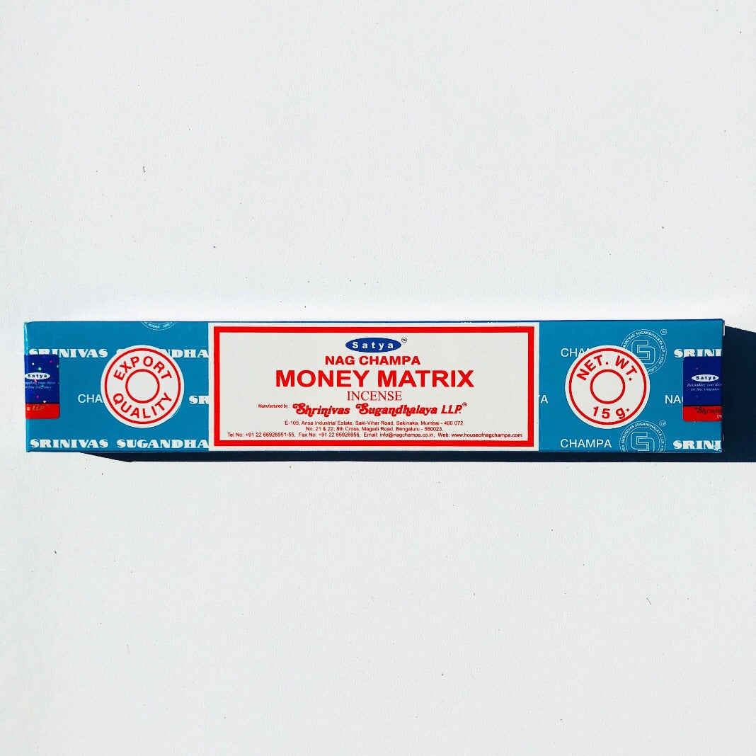 SATYA Incense-Money Matrix- 15mg