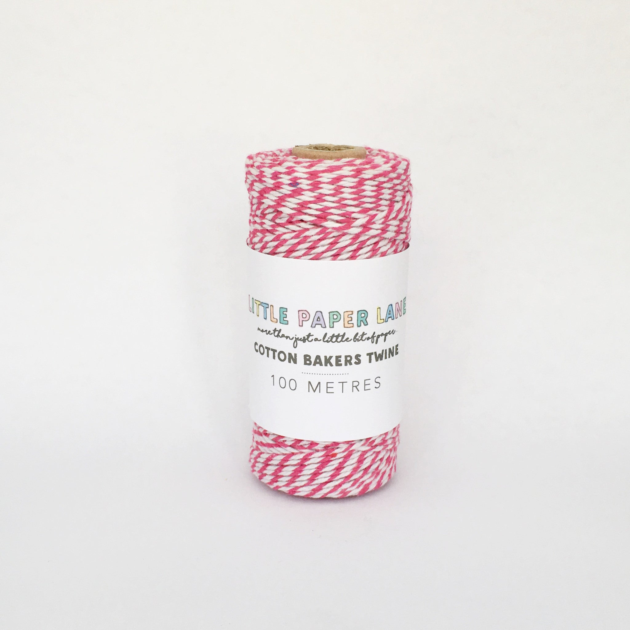 Little Paper Lane Cotton Blend Bakers Twine- Hot Pink