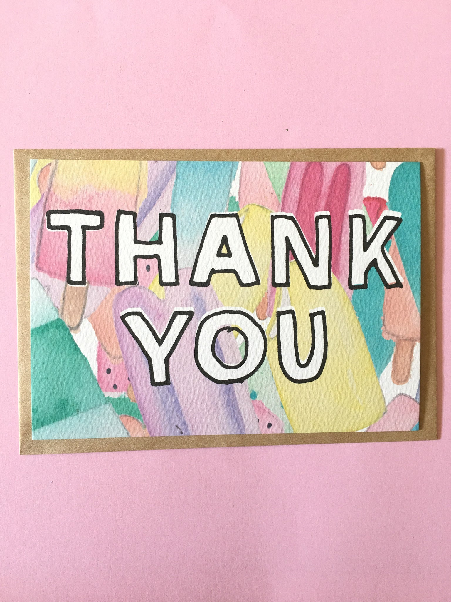 LITTLE PAPER LANE- Thank you notecard set of 12