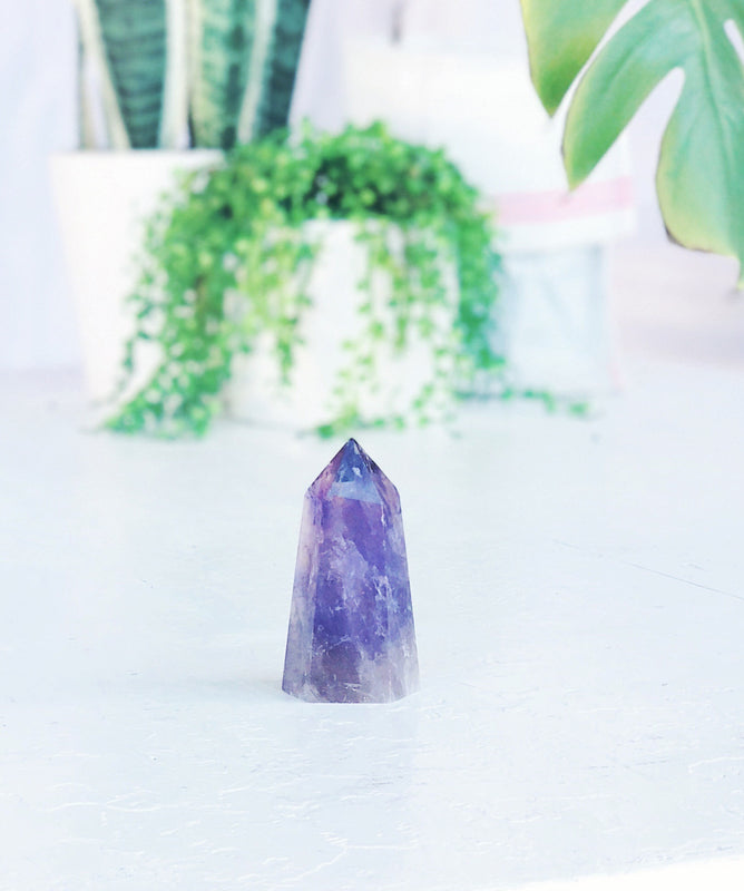 LITTLE PAPER LANE Crystals- Amethyst Generator $58