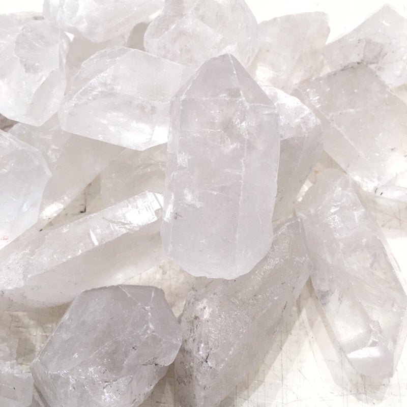 LITTLE PAPER LANE Crystals- Raw Quartz