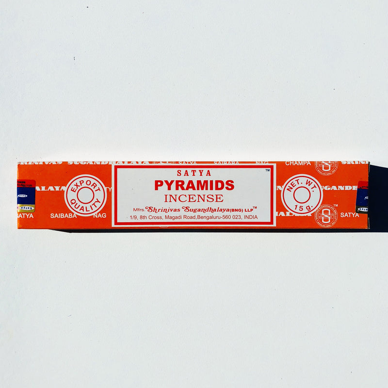 SATYA-Pyramids incense 15mg