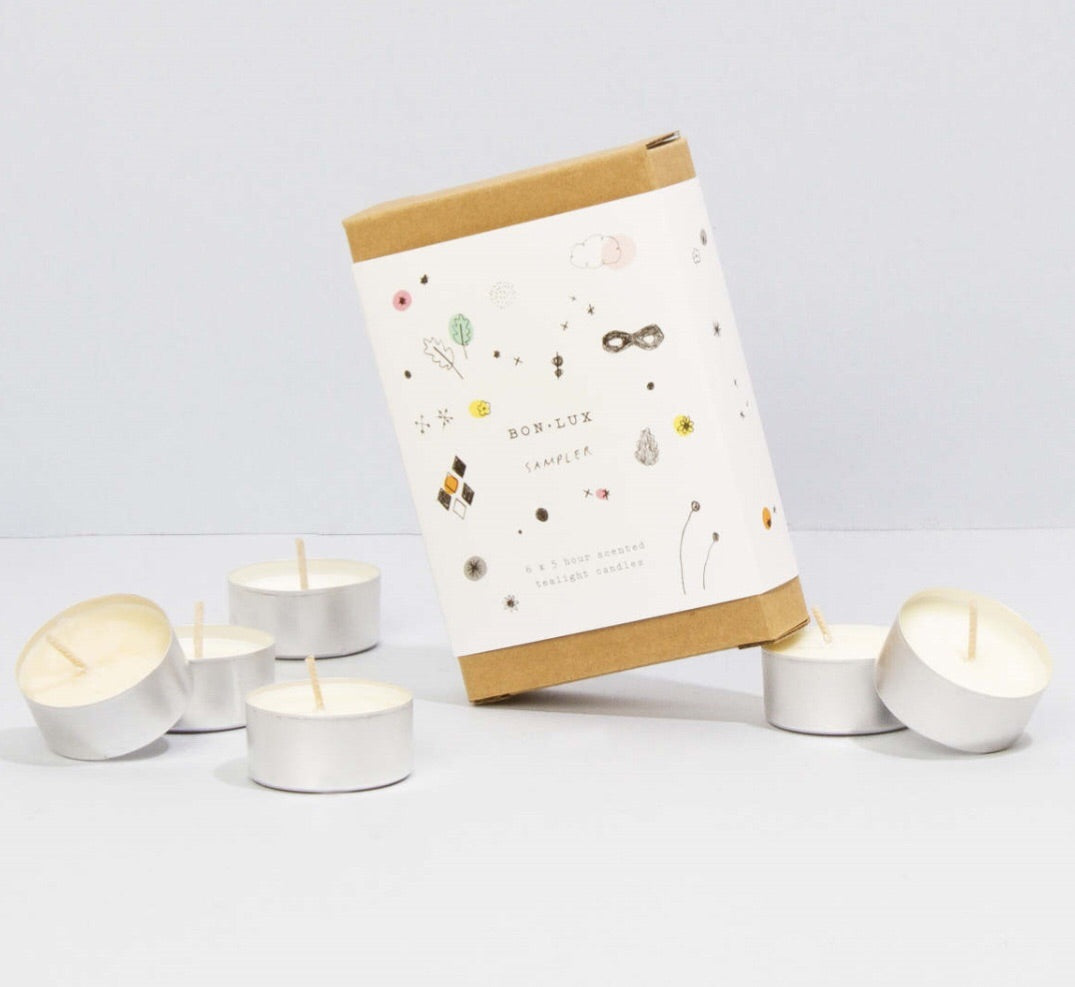 BON LUX- Mixed sampler pack of tea lights