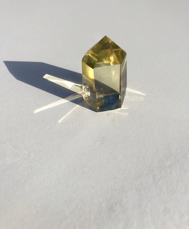 LITTLE PAPER LANE Crystals-Polished Citrine $35