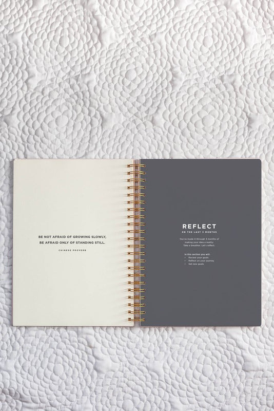 FRANK STATIONERY- On Purpose project planner | Blush