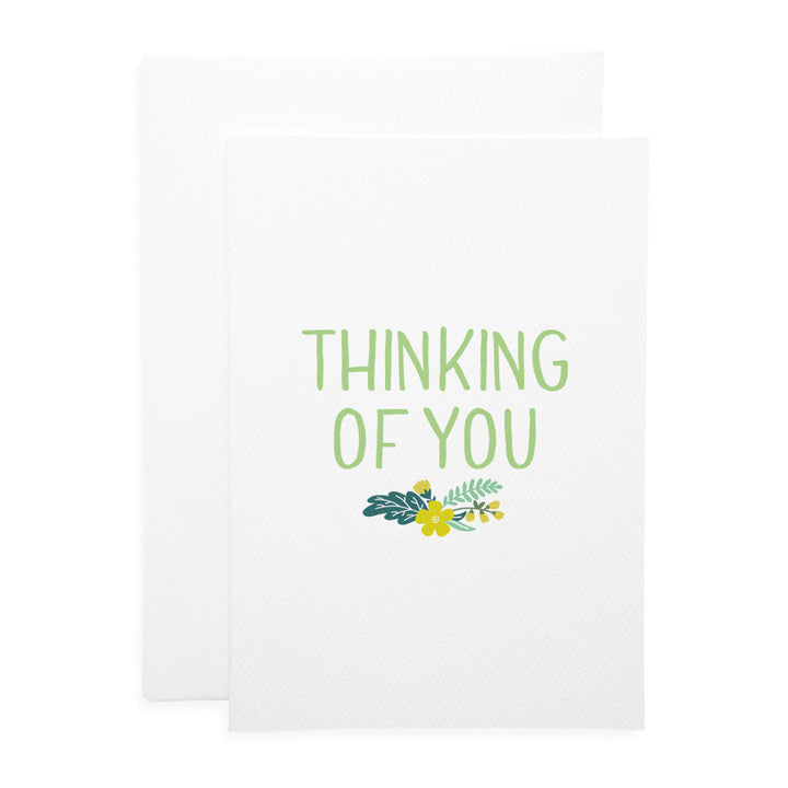 LAUREN HINKLEY- Greeting Card-Thinking of you Large