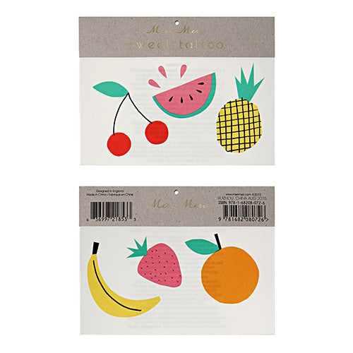 MERI MERI Tattoos-Fruit Large