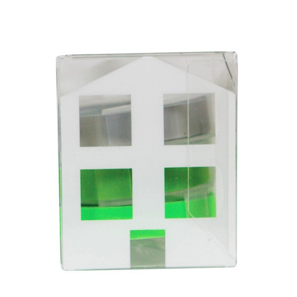 MOTEX Tape House set of 4 - Green House
