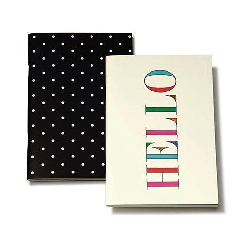 Kate Spade Notebook - Hello