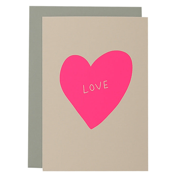 ME + AMBER Greeting Card- Love in Heart