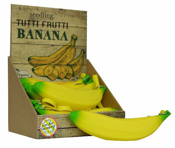 SEEDLING Tutti-Frutti Banana purse