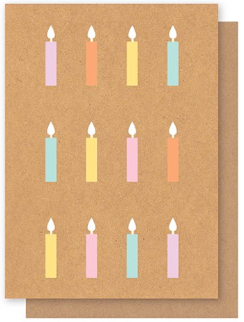 ELLY OAK CARDS-Multi Candles