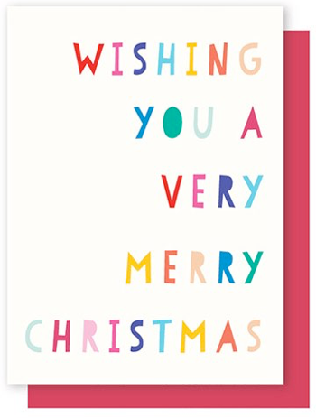 ELLY OAK CARDS-wishing you a merry xmas