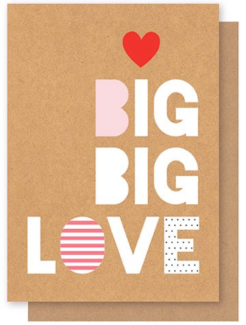 ELLY OAK CARDS-Love big big love