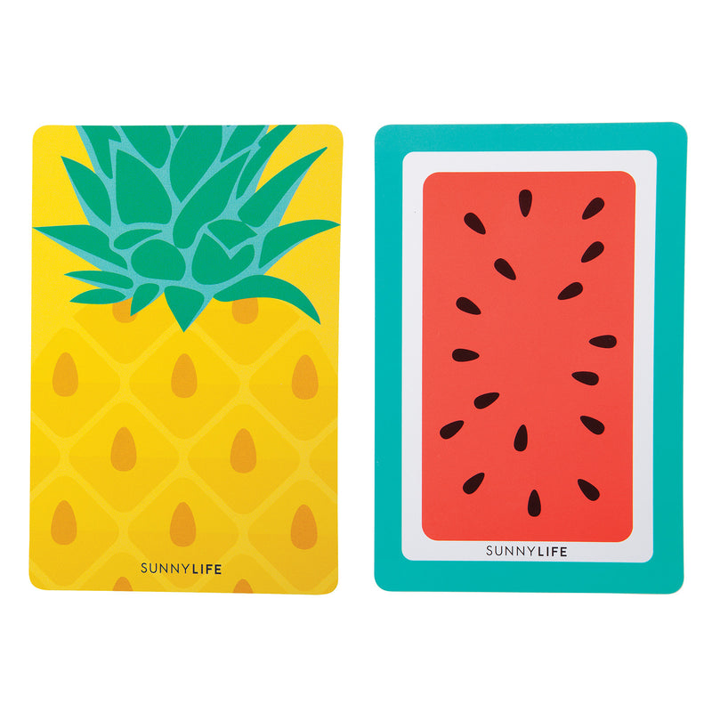 SUNNYLIFE Playing Cards Pineapple/Watermelon