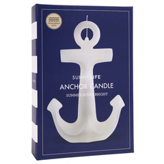 SUNNYLIFE Anchor Candle Large - White